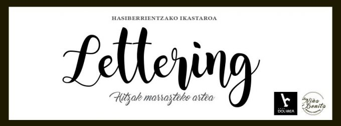 LETTERING IKASTAROA