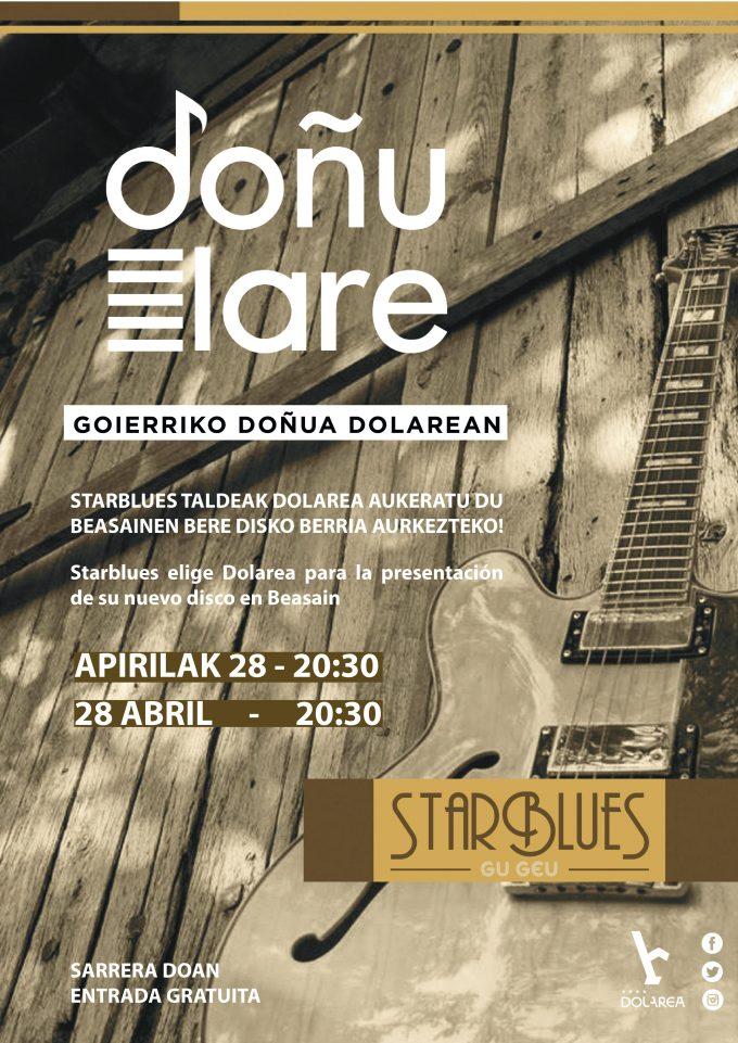 STARBLUES presenta su disco en Beasain