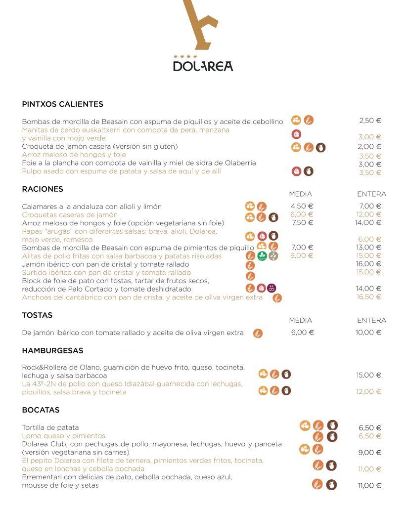 Nueva Carta De Cafeteria Dolarea