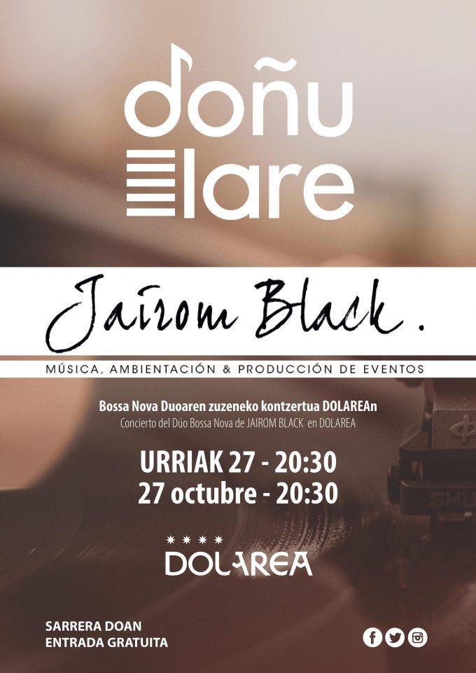 Vuelve DOÑULARE con elDúo Bossa Nova de Jairom Black