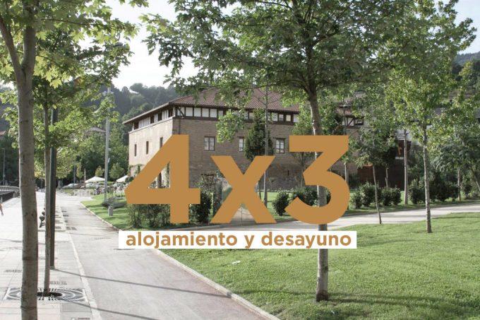 VERANO 2019 – 4X3 NOCHES EN GIPUZKOA