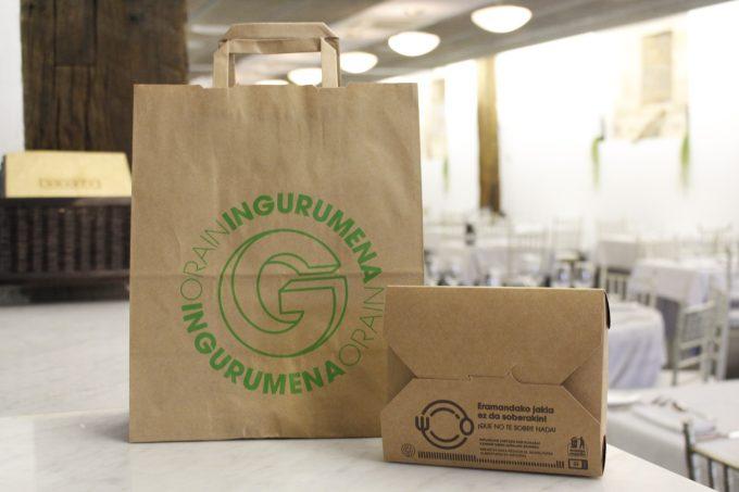 Ayúdanos aevitar el despilfarro alimentario solicitando tu Gourmet Bag